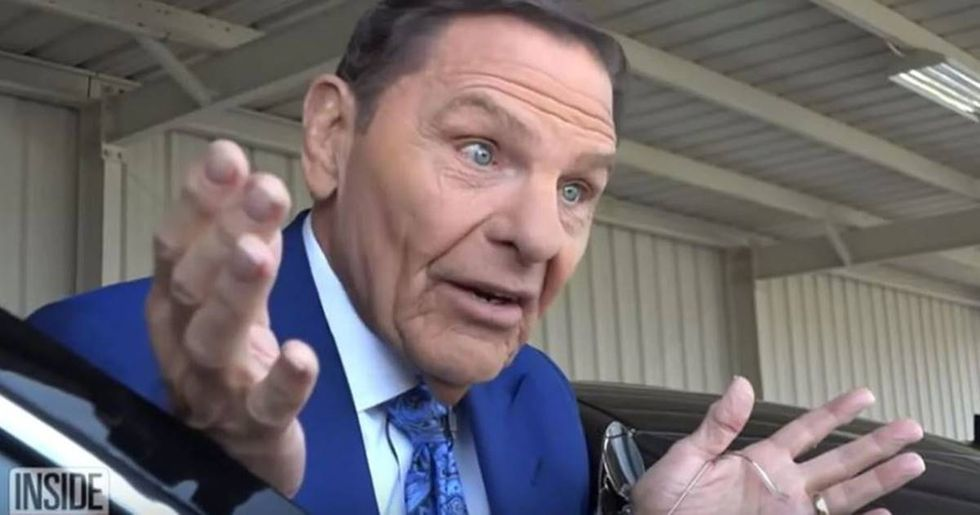 Televangelist Kenneth Copeland brazenly defended his opulent lifestyle in an unhinged viral interview.