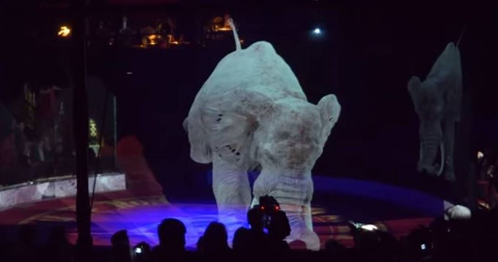 This German circus replaced animals with cruelty-free holograms and it looks amazing.