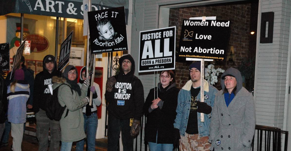 Woman's thoughtful response to pro-lifer's 'dare' to google abortion photos exposes what reproductive rights are really about.