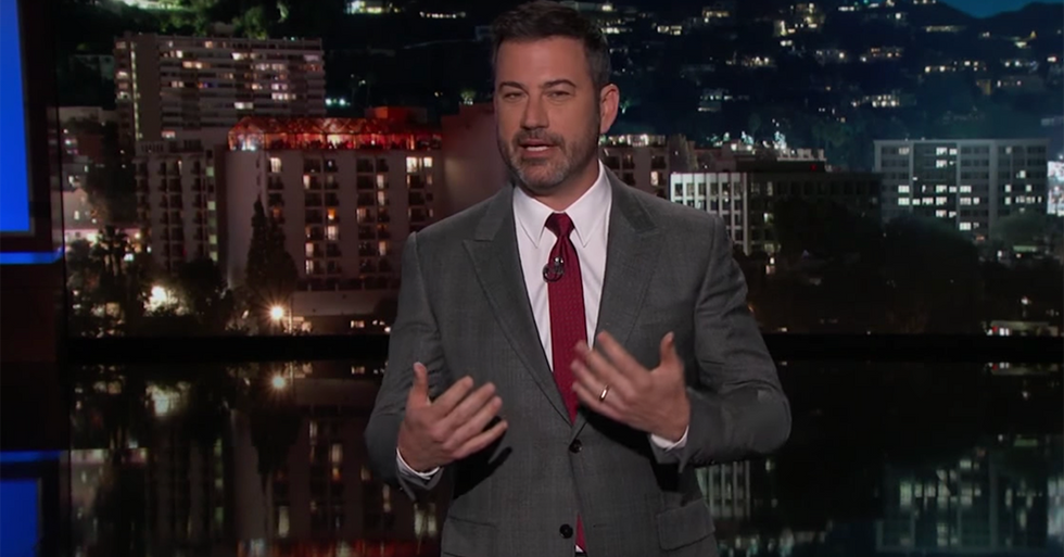After His Wife And Son Received Threats, Jimmy Kimmel Offered To End Feud With Sean Hannity