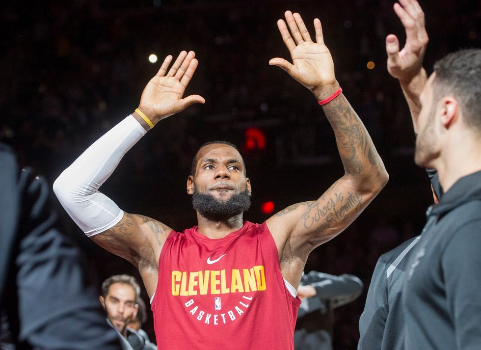 Will LeBron James Dump The Cavaliers Over Trump?