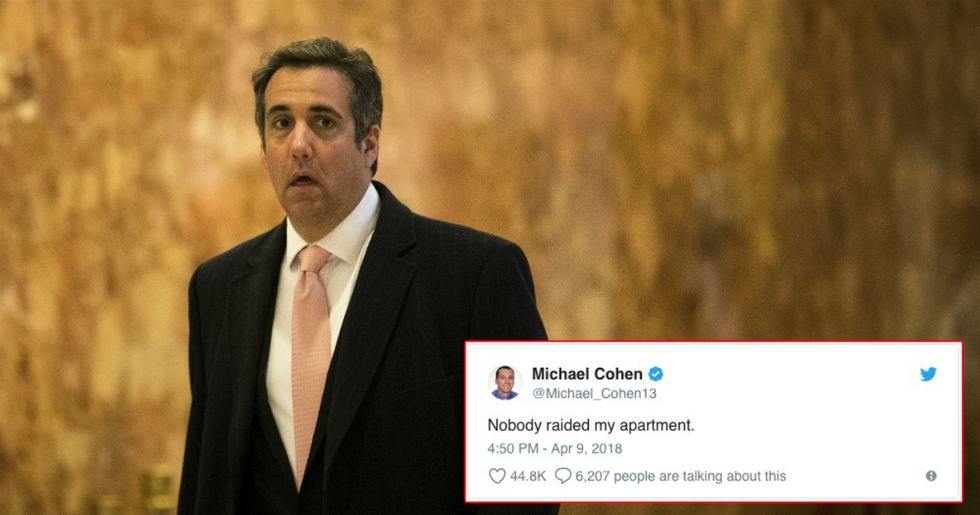 Sportswriter Michael Cohen Would Like You To Know That The FBI Isn't After Him
