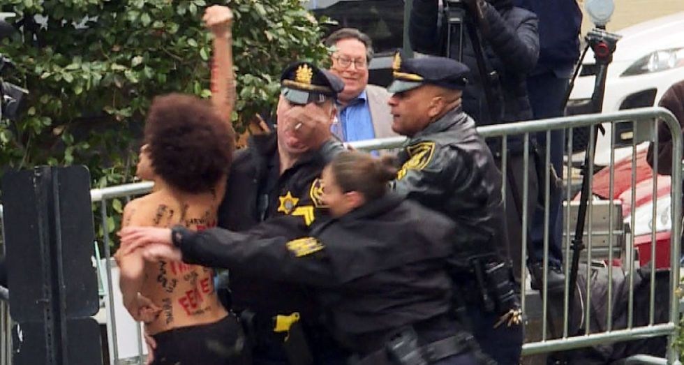 Former 'Cosby Show' Actress Arrested While Protesting Bill Cosby's Sexual Assualt Trial