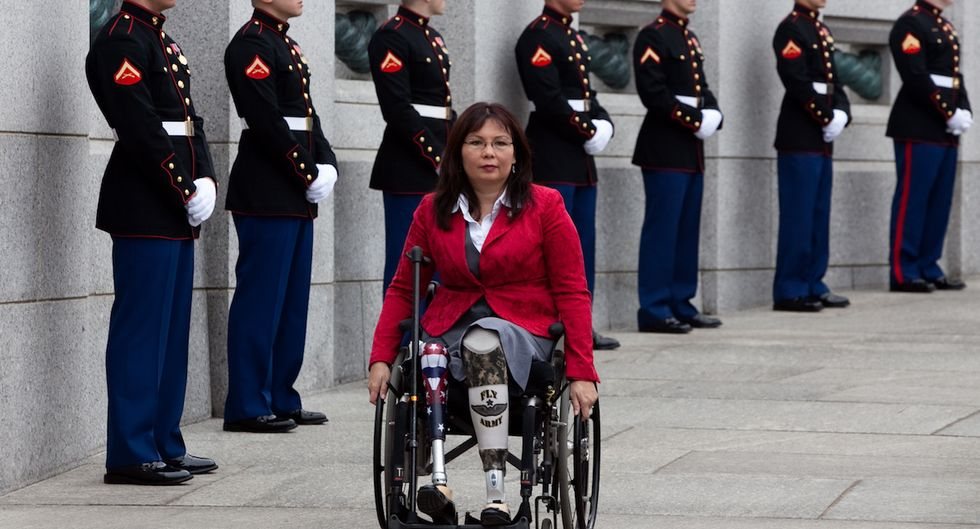 Tammy Duckworth Makes History As The First Sitting U.S. Senator To Give Birth