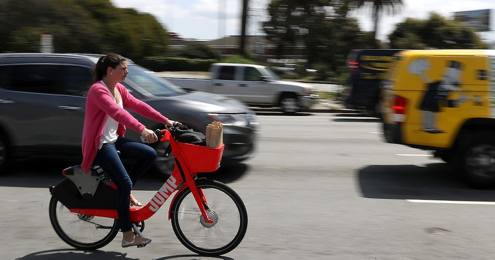 Uber Moves To Become A Global Bike-Sharing Service By Acquiring Jump