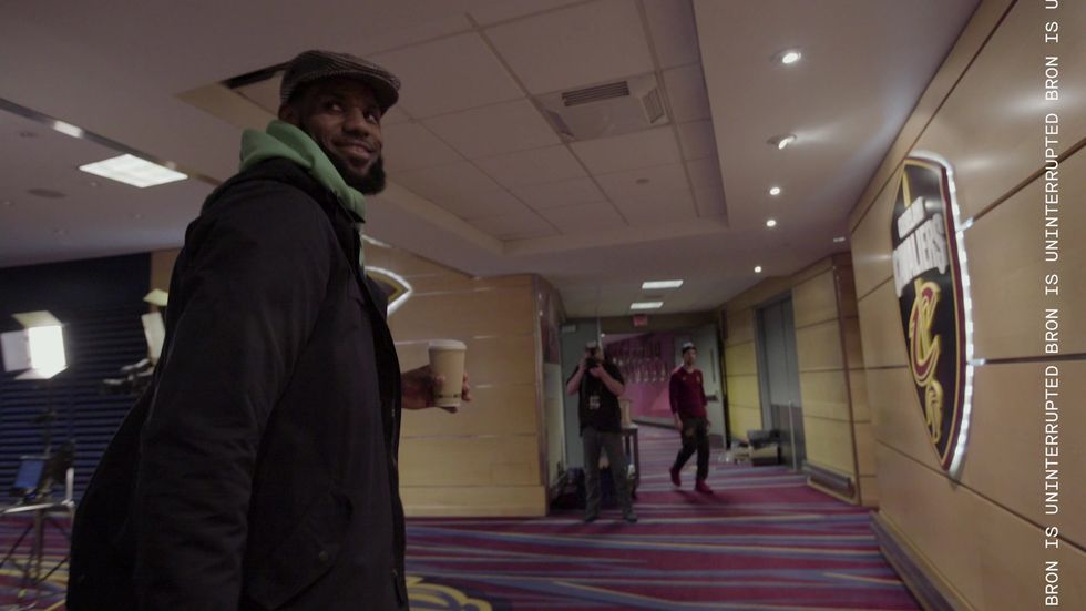 LeBron James Chases Another NBA Championship In 'Trophies' Online Video Series
