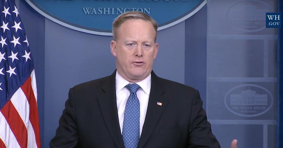 Sean Spicer Cites Nonexistent Atlanta Terror Attack Three Times In Two Days
