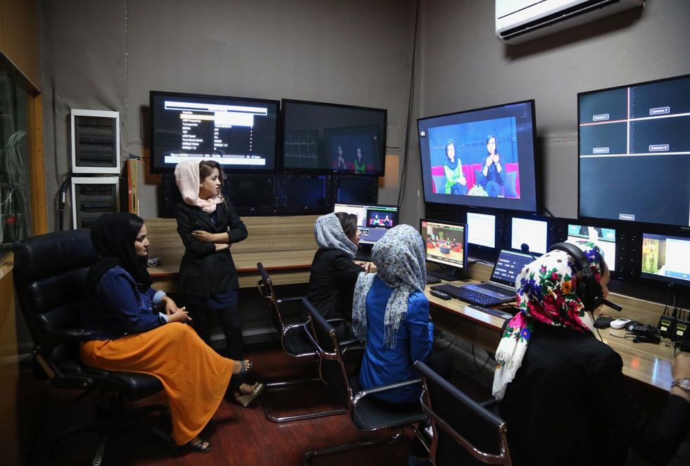 Meet the Young Afghan Women Making Their Voices Heard — By Launching Their Own Media Companies
