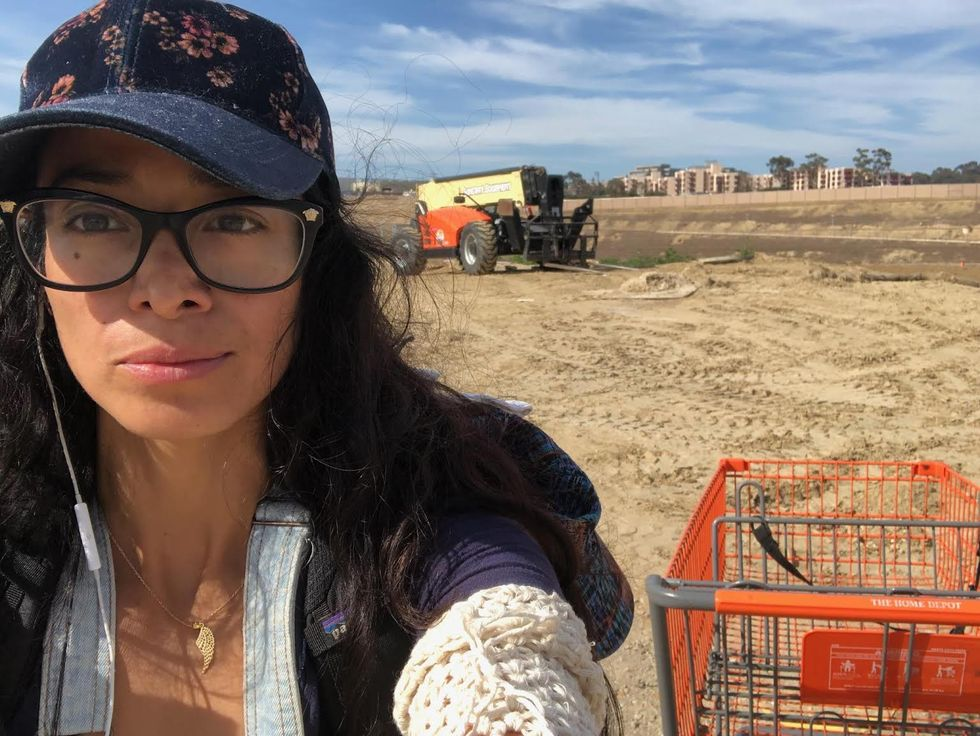Artist Jackie Amezquita Walked From The U.S.-Mexico Border To Los Angeles