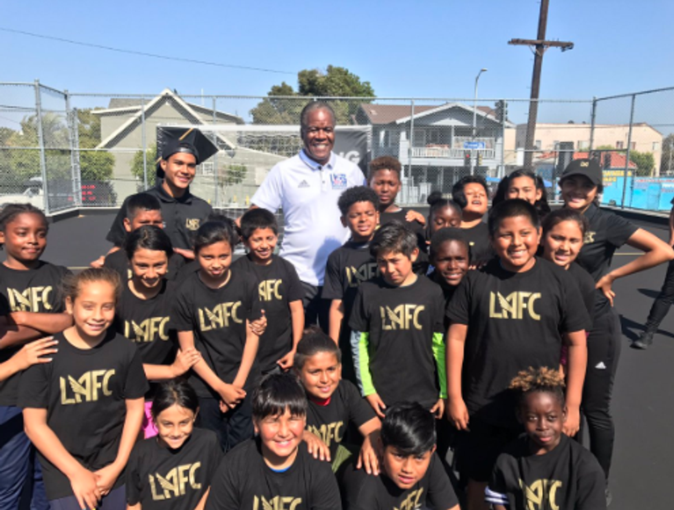 Los Angeles Youth Get A Safe Place To Play Soccer Close To Home