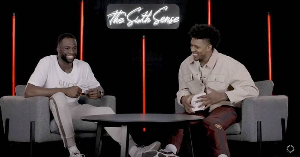 NBA Stars Nick Young And Draymond Green Discuss Their Unique Chemistry In 'The Sixth Sense'