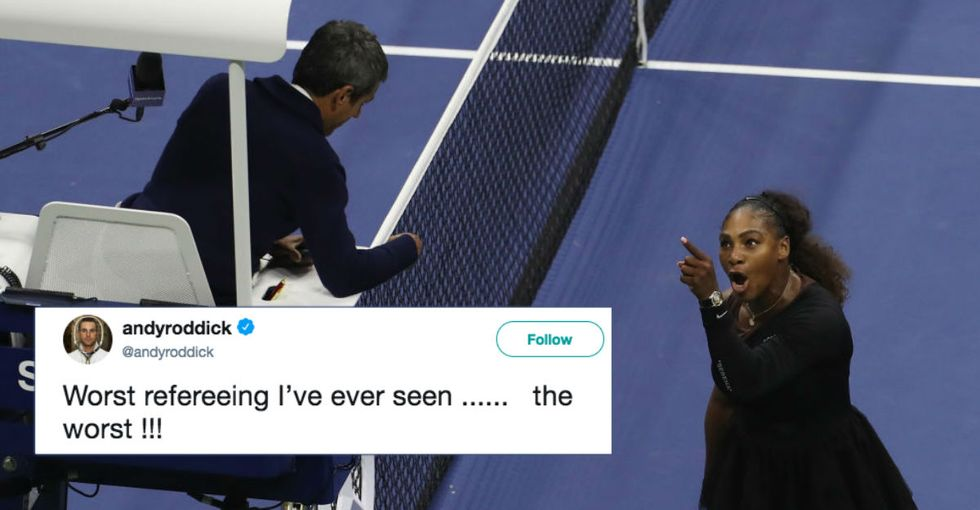 Serena Williams just exposed one of the most sexist double standards in all of sports.