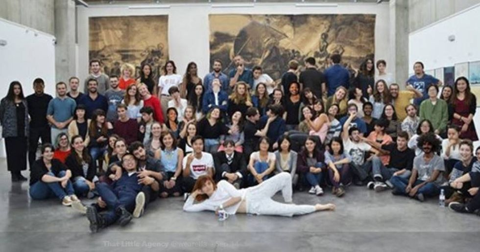 A French art school was caught Photoshopping their students black to appear more diverse.