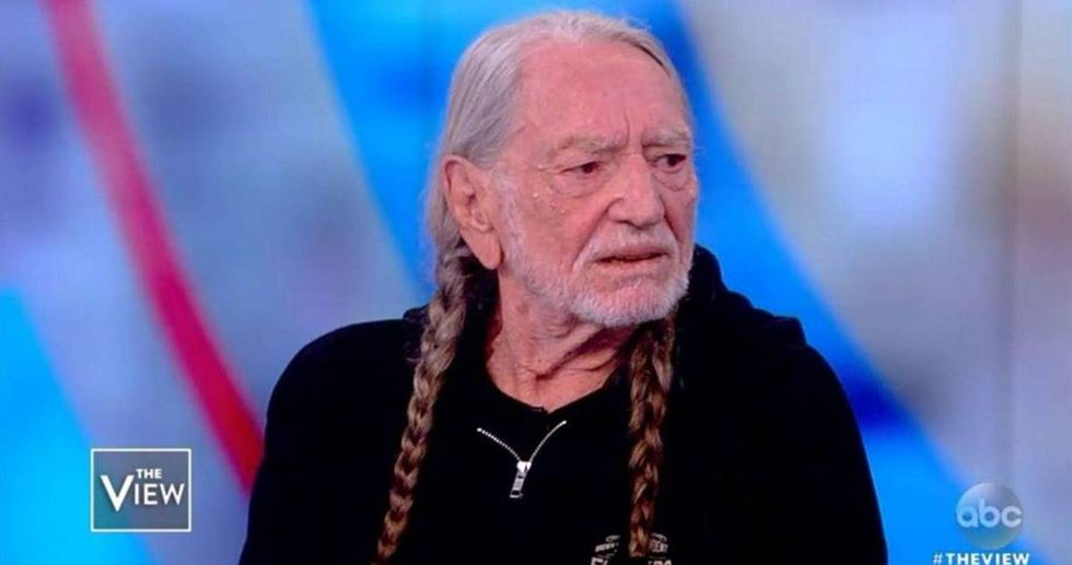 Willie Nelson has three words for country fans who can't stand that he's supporting a Democrat.