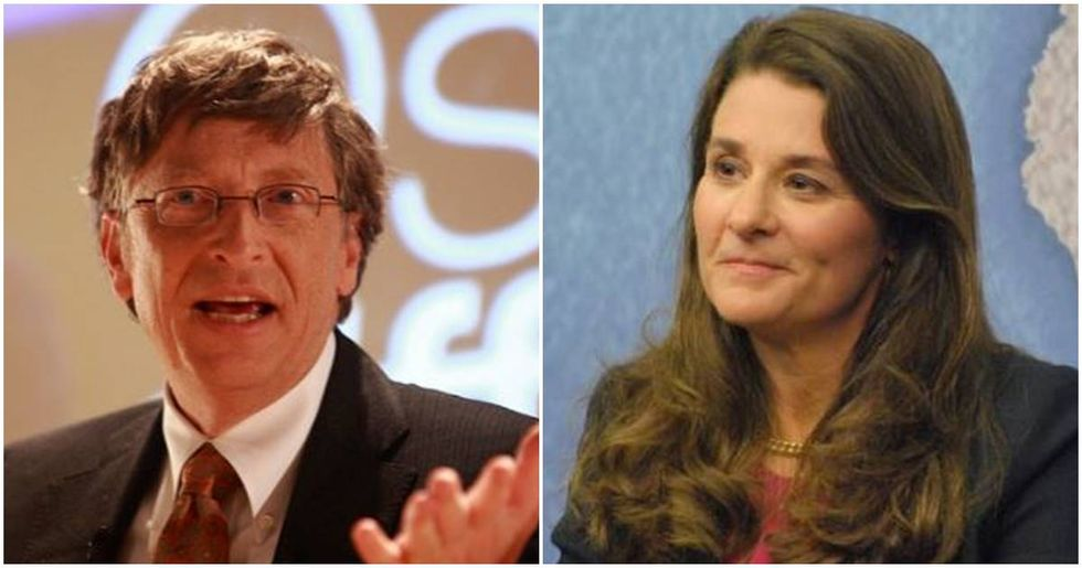 If Bill and Melinda Gates had a magic wand and could fix any problem, here's what they'd choose.