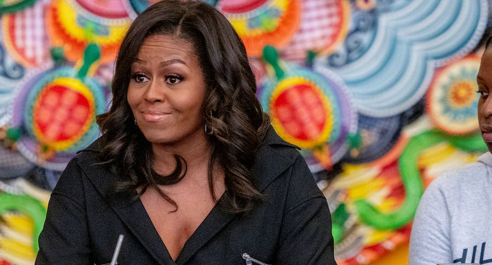 Michelle Obama made a fascinating admission about self-doubt while speaking to an all-girls school.