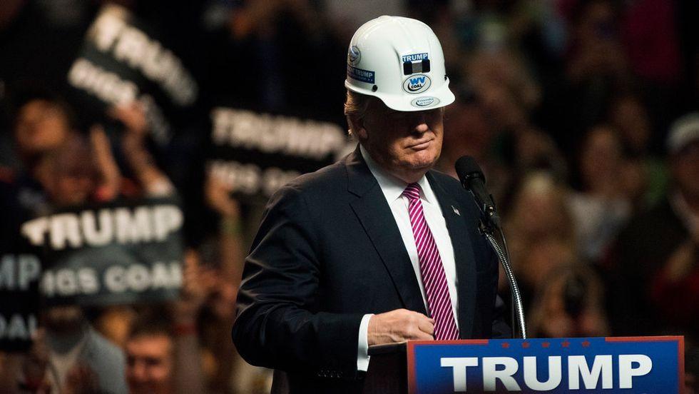 Trump Says He'llGive Coal Miners Jobs That No Longer Exist