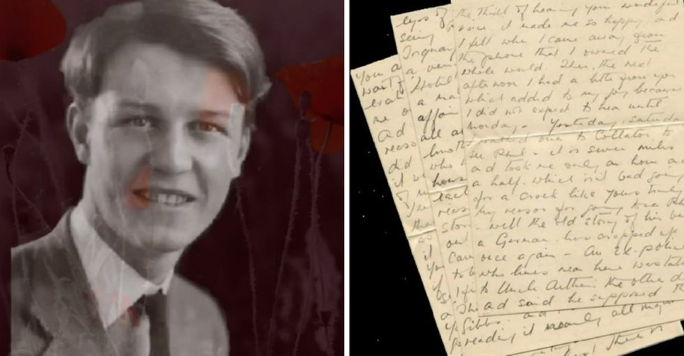 These recently discovered love letters between two men in World War II are astounding.