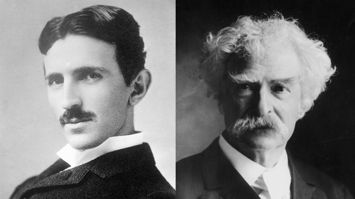 The secret to Mark Twain's friendship with Nikola Tesla