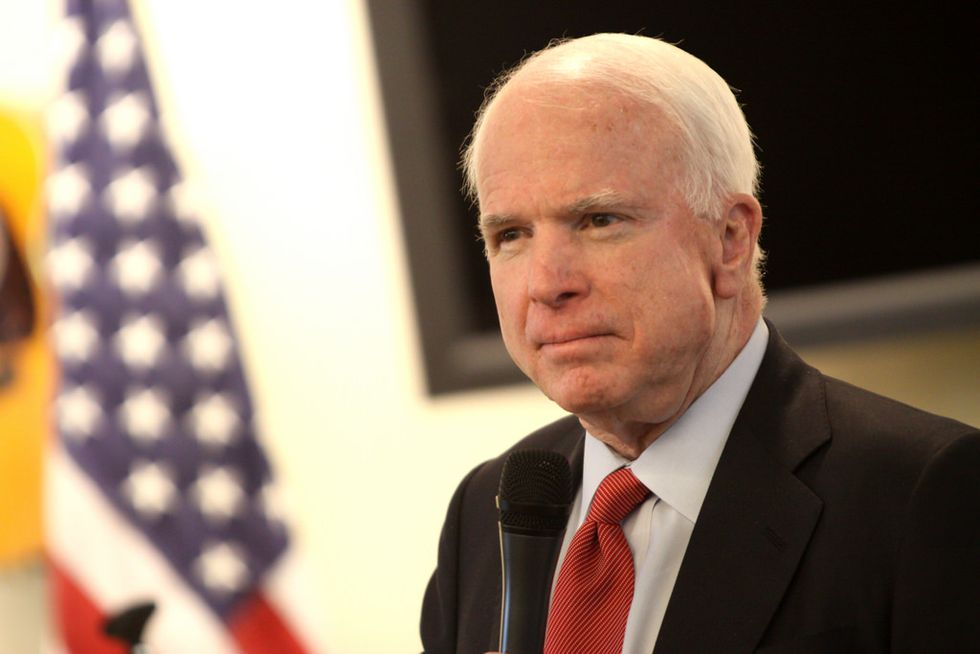 John McCain Issues A Stern Warning For Donald Trump