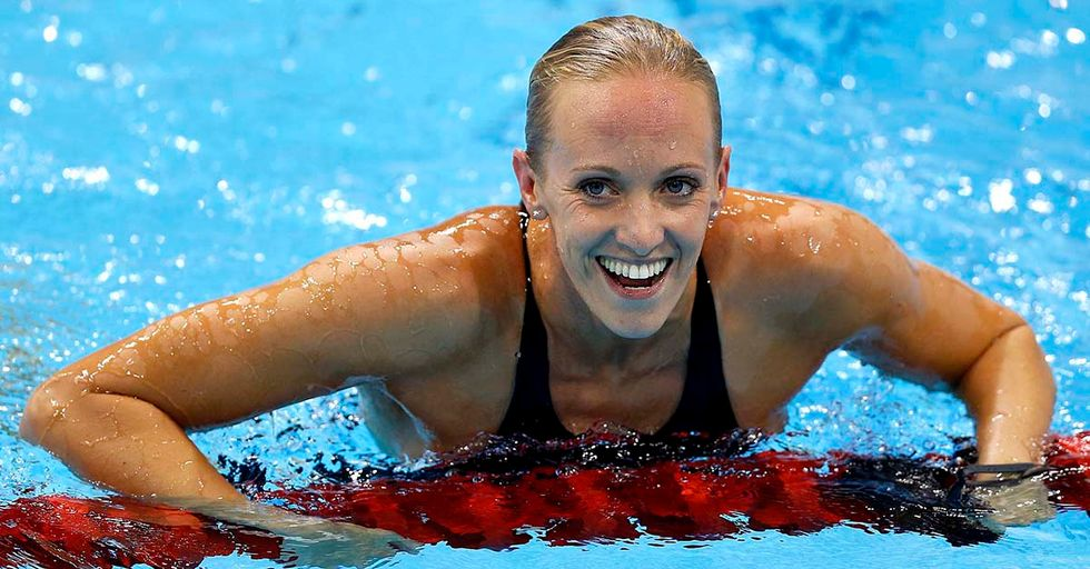 Gold Medalist Dana Vollmer Will Swim In Her Next Competition While Six Months Pregnant