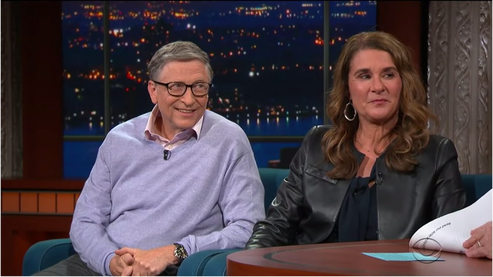 Bill and Melinda Gates had a surprising answer when asked about a 70 percent tax on the wealthiest Americans.