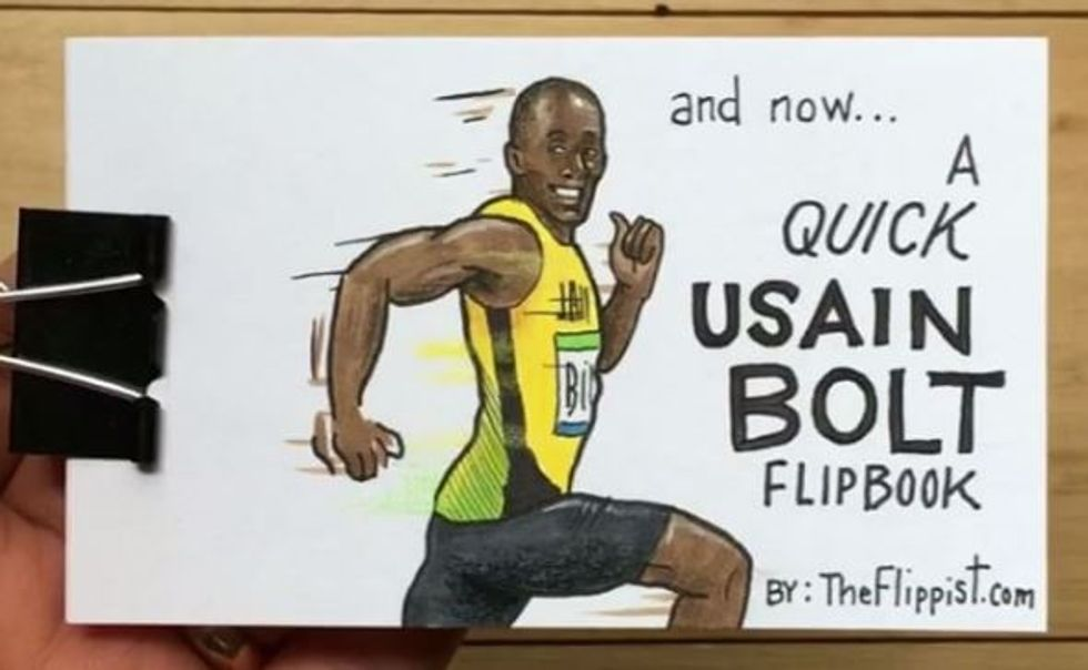 You'll Flip Over This Animation Of Simone Biles And Usain Bolt In Rio