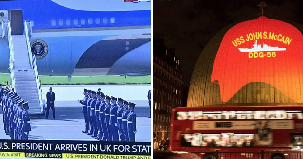All the brilliantly petty ways the UK is trolling Donald Trump during his visit.