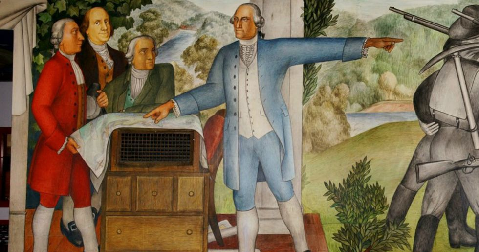 San Francisco school is removing a 'traumatizing' George Washington mural.