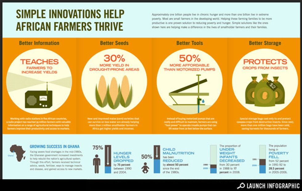Transparency: Simple Innovations Help African Farmers Thrive