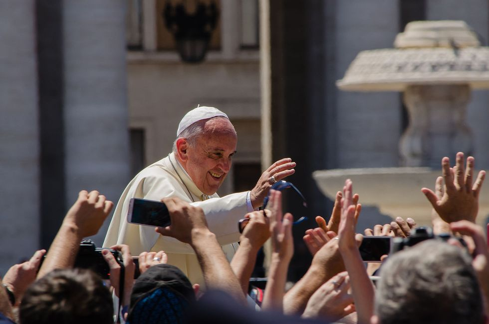 Pope Francis to Skip Lunch With Congressmen, Will Eat With DC's Homeless Community Instead