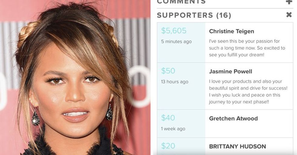 Chrissy Teigen Quietly Paid This Girl's Beauty School Tuition, But The Secret Got Out Quickly