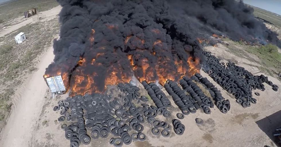 This Insane Texas Tire Fire Shows Why The EPA Is Essential To America