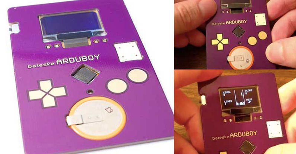 This Software Developer Makes A Great First Impression With An Interactive Tetris Business Card