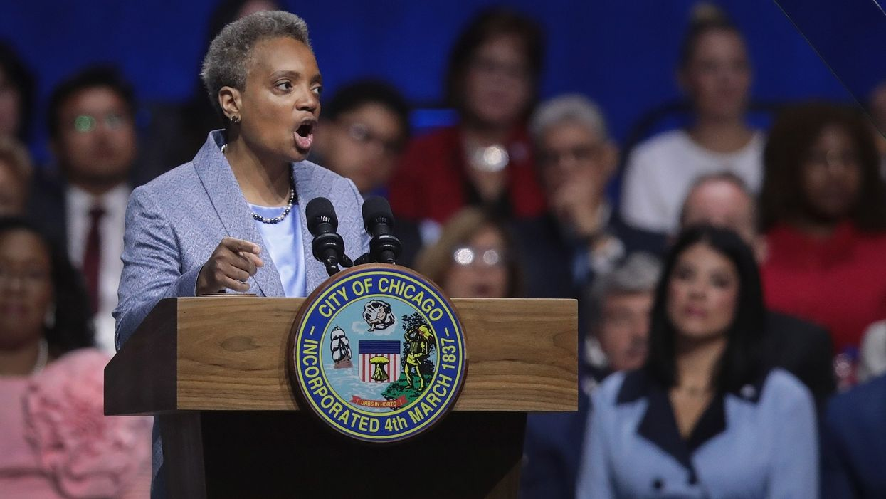 Chicago mayor blocks ICE from accessing police databases ahead of potential raids
