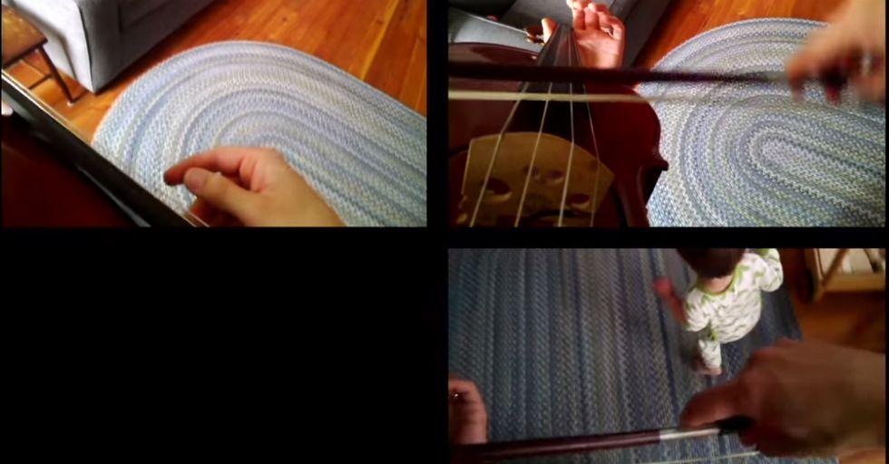 Intermission: Unforgettable One-Man Symphony Using Google Glass