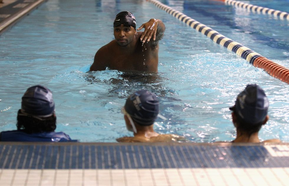 How This Olympian Is Saving African-American Children From Drowning