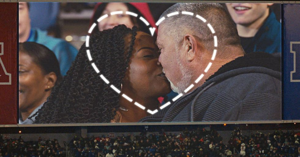 The NFL Used Kiss Cams To Make A Moving Video About Love, Diversity, And Equality