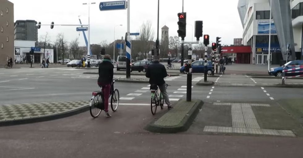 The Netherlands Is Evolving The Design Of Traffic Intersections To A Whole New Level