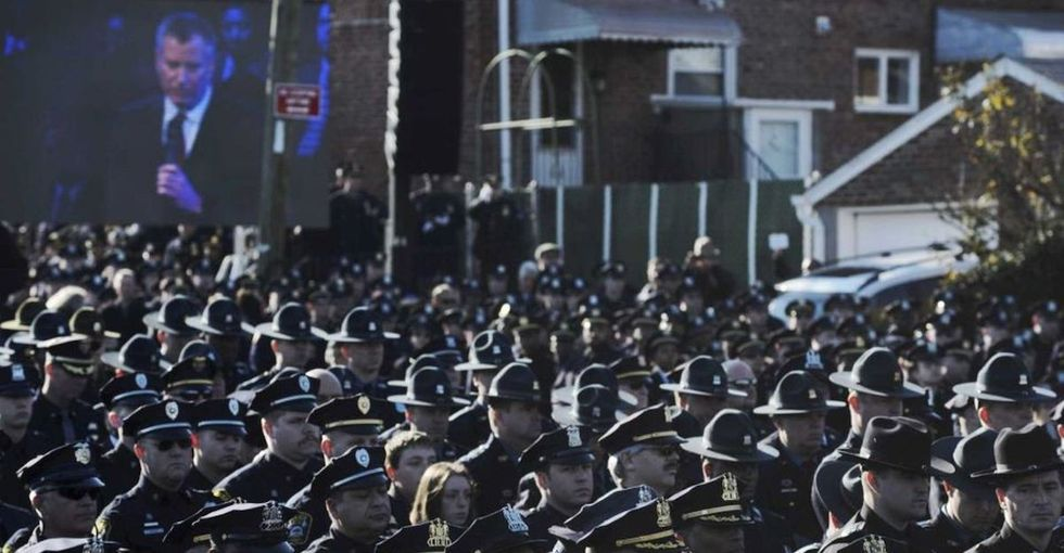 The Absurdist Theatre of the NYPD