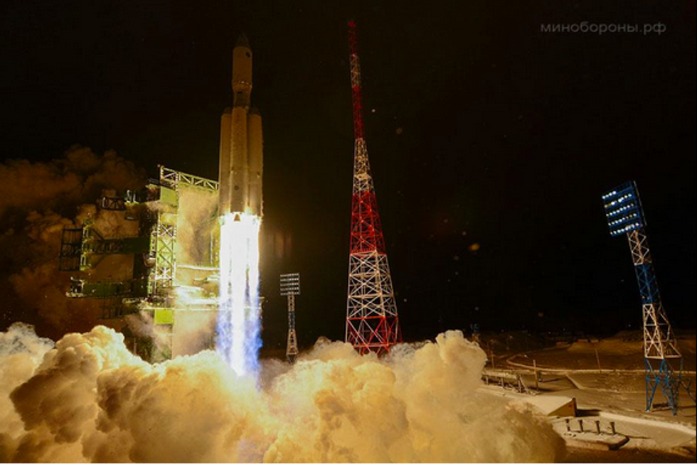 Russia Launches What Might Be First Eco-Friendly Space Weapon