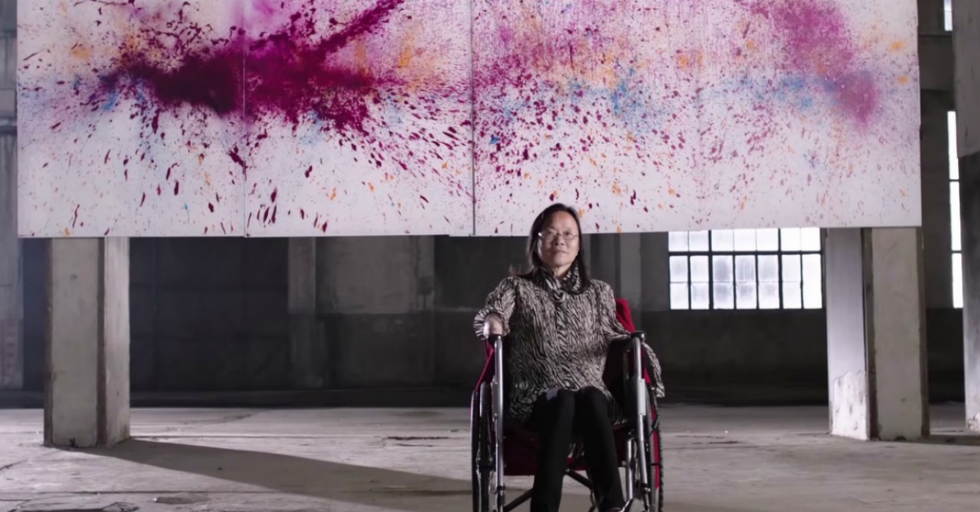 Cool Technology Allows Disabled People To Create Incredible Art With Their Minds