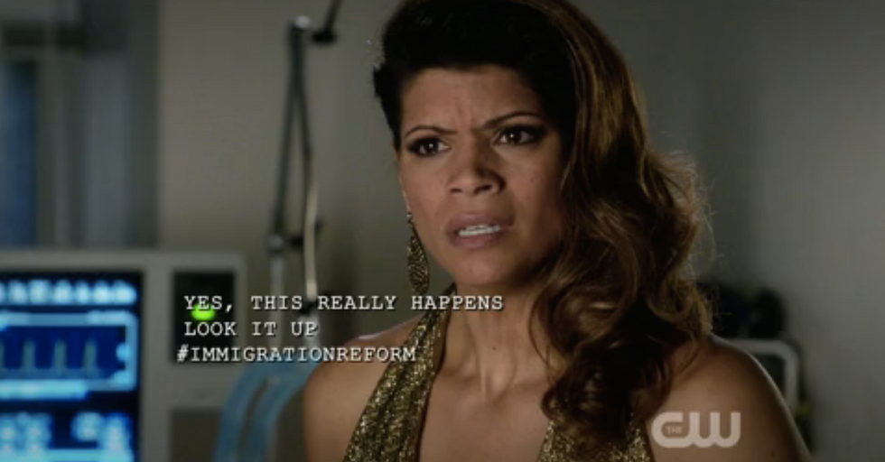 Last Night's Jane the Virgin Had a Bold Immigration Reform Subplot
