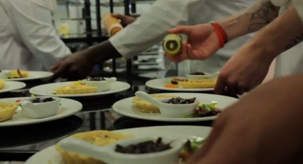 This European City's Number One Restaurant Is Staffed Entirely By Prisoners