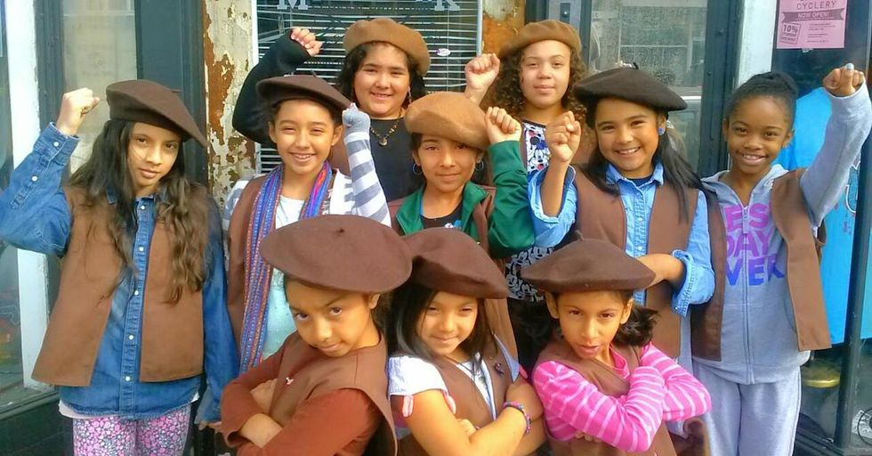 The Radical Brownies Are Not a Typical Girl Scout Troop