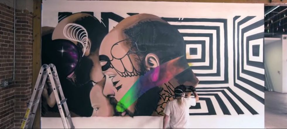 "Animated ""Gif-iti"" Is  Whole New Way to Look at Street Art"