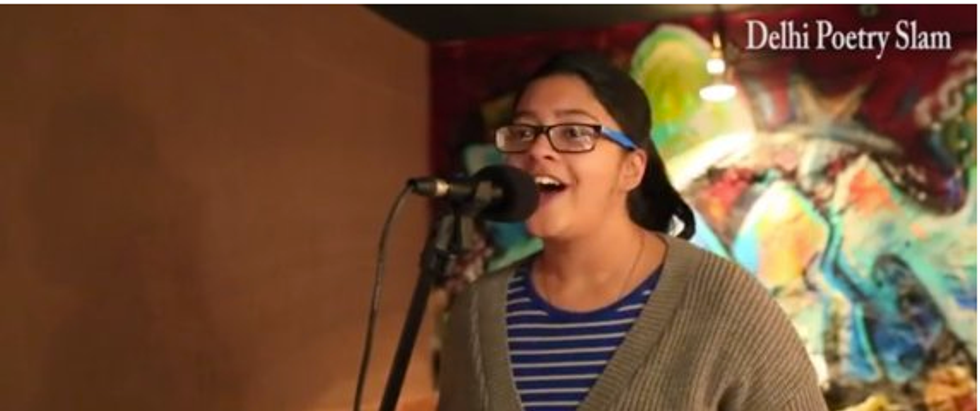 Female Indian Student Raps to Fight Misogyny