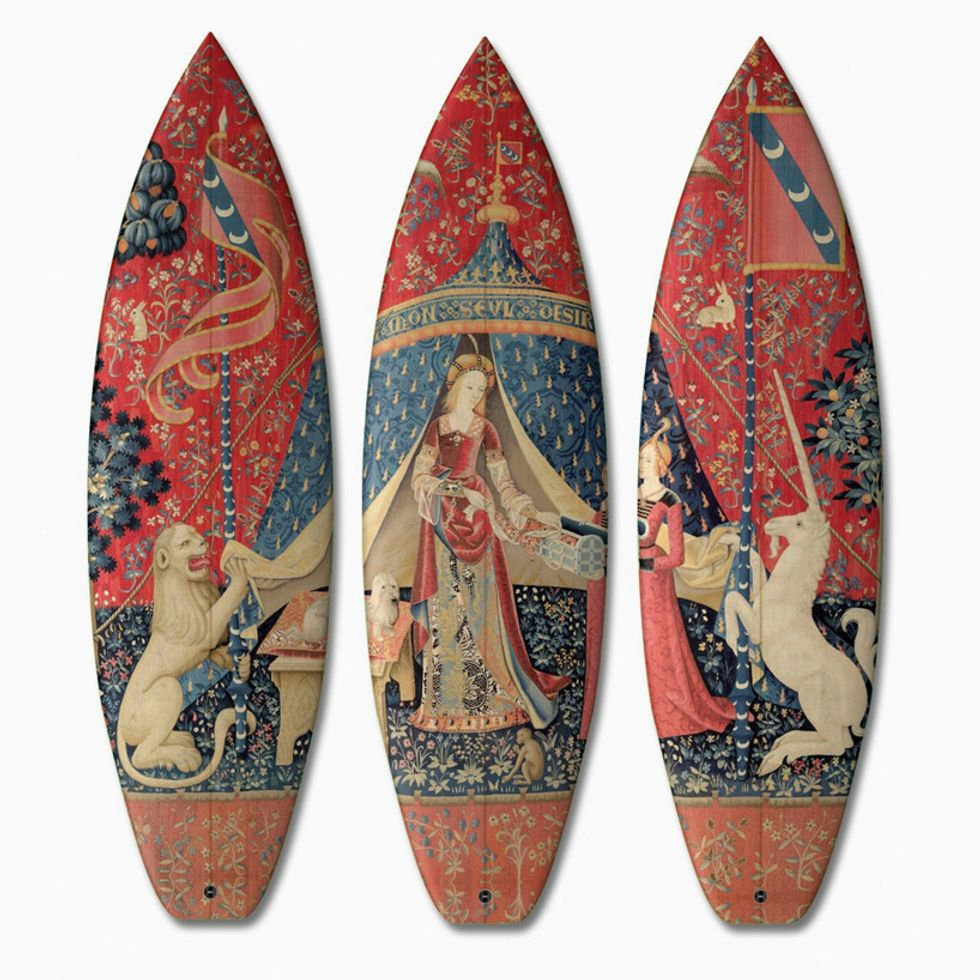 An Artistic Way to Master Surfing
