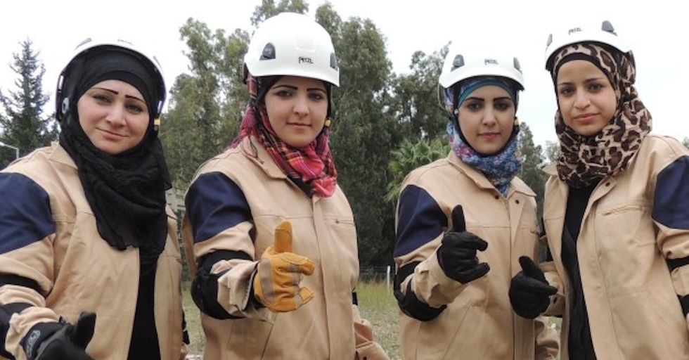 Meet Syria's All-Women Rescue Team
