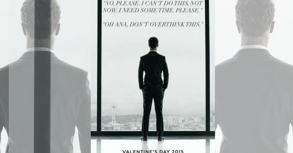 Abuse Is Not Romance: Ads for '50 Shades'With Actual Insane Quotes from the Book